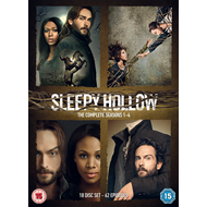 Produktbilde for Sleepy Hollow: The Complete Seasons 1-4 (UK-import) (DVD)