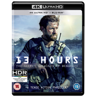 Produktbilde for 13 Hours (UK-import) (4K Ultra HD + Blu-ray)