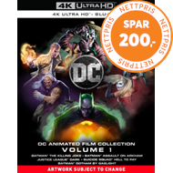Produktbilde for DC Animated Film Collection: Volume 1 (UK-import) (4K Ultra HD + Blu-ray)