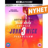 John Wick: Chapter 3 - Parabellum (UK-import) (4K Ultra HD + Blu-ray)