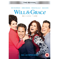 Produktbilde for Will And Grace: The Revival - Sesong 2 (UK-import) (DVD)