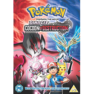 Produktbilde for Pokémon The Movie 17: Diancie And The Cocoon Of Destruction (UK-import) (DVD)