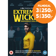 Produktbilde for Extremely Wicked, Shockingly Evil And Vile (UK-import) (DVD)