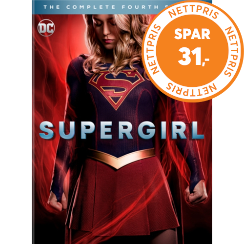 Supergirl - Sesong 4 (UK-import) (DVD)