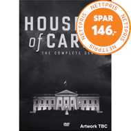 Produktbilde for House Of Cards - The Complete Series (UK-import) (DVD)