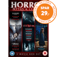 Produktbilde for Horror Myths & Legends: The Babadook / Let Me In / It Follows (UK-import) (DVD)