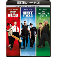 Produktbilde for The World's End/Hot Fuzz/Shaun Of The Dead (UK-import) (4K Ultra HD + Blu-ray)