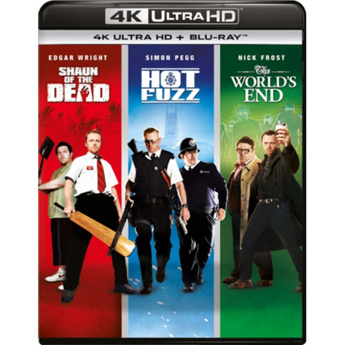 The World's End/Hot Fuzz/Shaun Of The Dead (UK-import) (4K Ultra HD + Blu-ray)