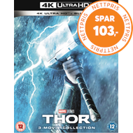 Produktbilde for Thor 1-3: 3-Movie Collection (UK-import) (4K Ultra HD + Blu-ray)