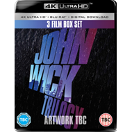 Produktbilde for John Wick 1-3: Trilogy (UK-import) (4K Ultra HD + Blu-ray)