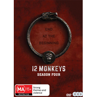 Produktbilde for 12 Monkeys - Sesong 4 (DVD)