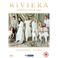 Produktbilde for Riviera - Sesong 1-2 (UK-import) (DVD)