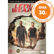 Lethal Weapon - Sesong 3 (DVD)