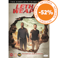 Produktbilde for Lethal Weapon - Sesong 3 (DVD)