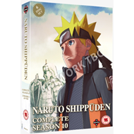 Produktbilde for Naruto - Shippuden: Complete Series 10 (UK-import) (DVD)