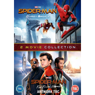 Produktbilde for Spider-Man - Homecoming / Far From Home (UK-import) (DVD)