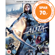 Produktbilde for Alita: Battle Angel (UK-import) (4K Ultra HD + Blu-ray 3D + Blu-ray)