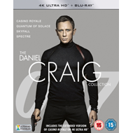 Produktbilde for James Bond: The Daniel Craig Collection (UK-import) (4K Ultra HD + Blu-ray)