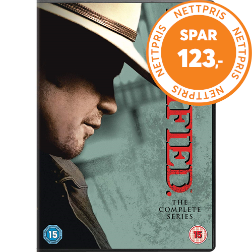 Justified The Complete Series Uk Import Dvd