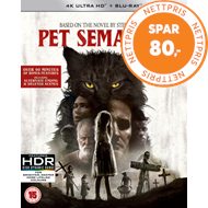 Produktbilde for Pet Sematary (2019) (UK-import) (4K Ultra HD + Blu-ray)