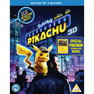 Produktbilde for Pokemon - Detective Pikachu (UK-import) (Blu-ray 3D + Blu-ray)