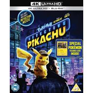 Produktbilde for Pokemon - Detective Pikachu (UK-import) (4K Ultra HD + Blu-ray)