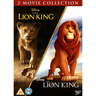 Produktbilde for The Lion King / Løvenes Konge (1994 / 2019): 2-Movie Collection (UK-import) (DVD)