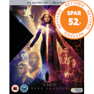 Produktbilde for X-Men: Dark Phoenix (UK-import) (4K Ultra HD + Blu-ray)