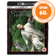 Produktbilde for Crouching Tiger, Hidden Dragon / Snikende Tiger, Skjult Drage (UK-import) (4K Ultra HD + Blu-ray)