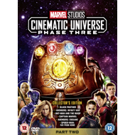 Produktbilde for Marvel Studios Cinematic Universe: Phase Three - Part Two (UK-import) (DVD)