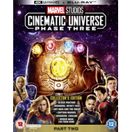 Produktbilde for Marvel Studios Cinematic Universe: Phase Three - Part Two (UK-import) (4K Ultra HD + Blu-ray)