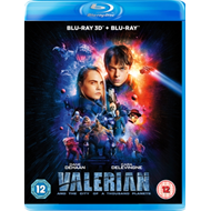Produktbilde for Valerian And The City Of A Thousand Planets (UK-import) (Blu-ray 3D + Blu-ray)