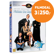 Produktbilde for A Fish Called Wanda / En Fisk Ved Navn Wanda (DK-import) (DVD)