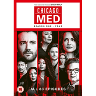 Produktbilde for Chicago Med - Sesong 1-4 (UK-import) (DVD)
