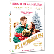 Produktbilde for It's A Wonderful Life (1946) / Livet Er Vidunderlig (DVD)