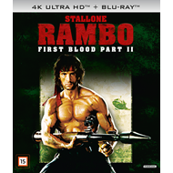 Produktbilde for Rambo 2 - First Blood Part II (4K ULTRA HD)