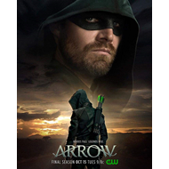 Produktbilde for Arrow - Sesong 8 (DVD)