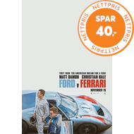 Produktbilde for Ford V Ferrari (4K Ultra HD + Blu-ray)