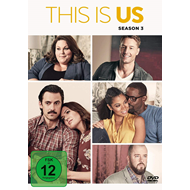 Produktbilde for This Is Us - Sesong 3 (DVD - SONE 1)
