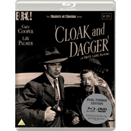 Produktbilde for Cloak And Dagger (1946) - The Masters Of Cinema Series (UK-import) (Blu-ray + DVD)