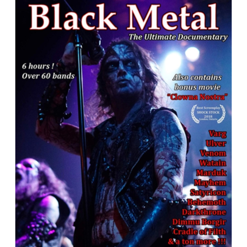 Black Metal - The Ultimate Documentary (UK-import) (BLU-RAY)