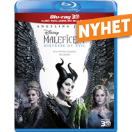 Produktbilde for Maleficent 2: Mistress Of Evil (UK-import) (Blu-ray 3D + Blu-ray)