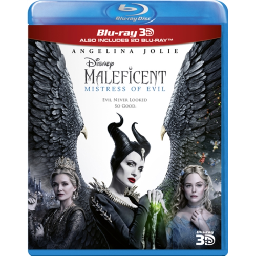 Maleficent 2: Mistress Of Evil (UK-import) (Blu-ray 3D + Blu-ray)