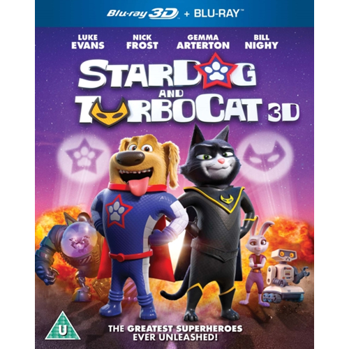 Stardog And Turbocat (UK-import) (Blu-ray 3D + Blu-ray)
