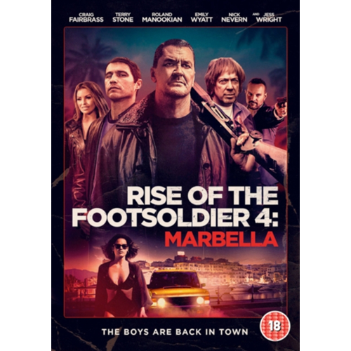 Rise Of The Footsoldier 4 - Marbella (UK-import) (DVD)