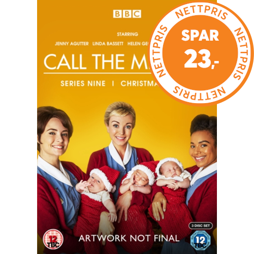 Call The Midwife / Nytt Liv I East End - Sesong 9 (UK-import) (DVD)