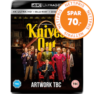 Produktbilde for Knives Out (UK-import) (4K Ultra HD + Blu-ray)