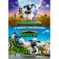 Produktbilde for Shaun The Sheep 1-2: Two Movie Collection (UK-import) (DVD)