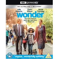 Produktbilde for Wonder / Mirakel (UK-import) (4K Ultra HD + Blu-ray)