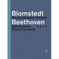 Produktbilde for Beethoven: Symphonies & Triple Concerto (UK-import) (DVD)